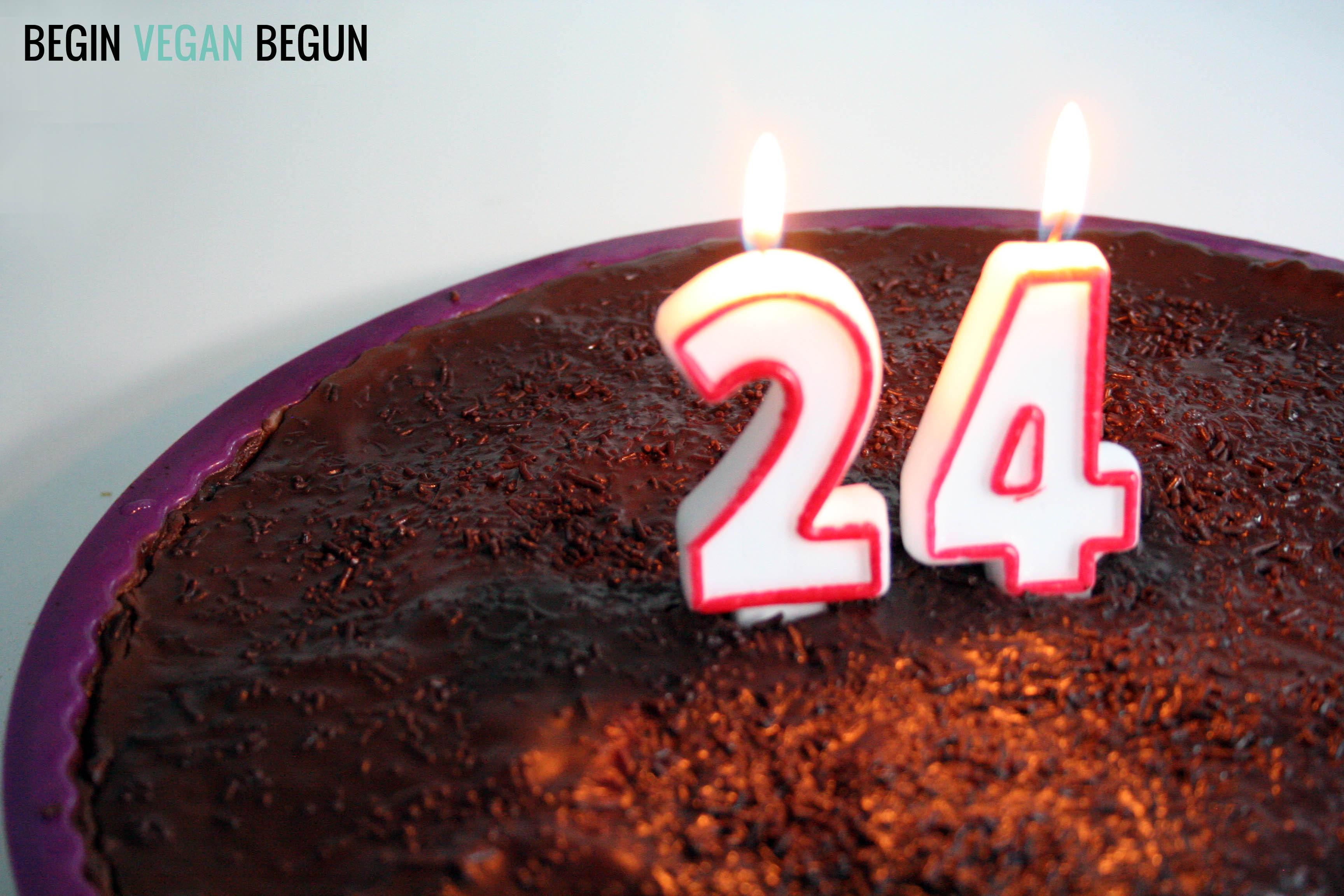 tarta cumpleaños vegana