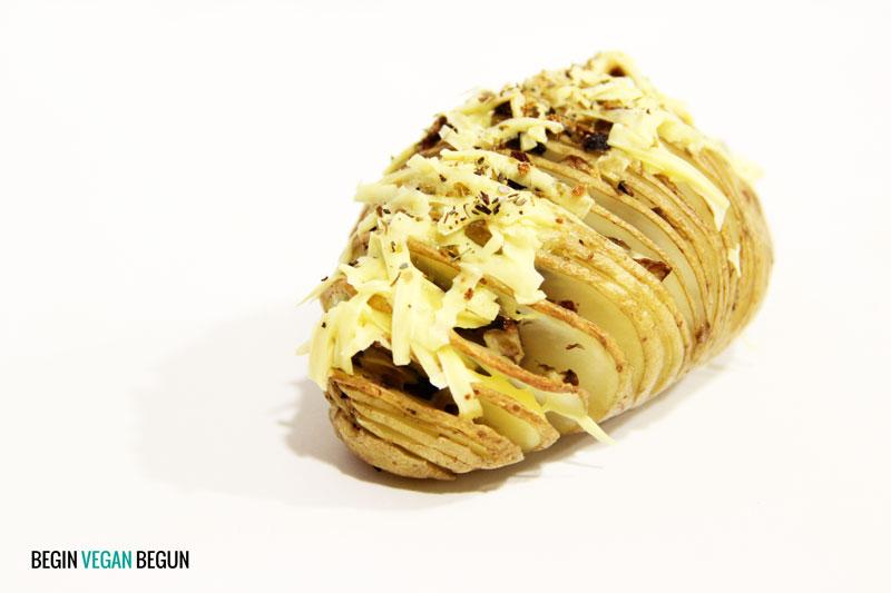 patata al horno vegana