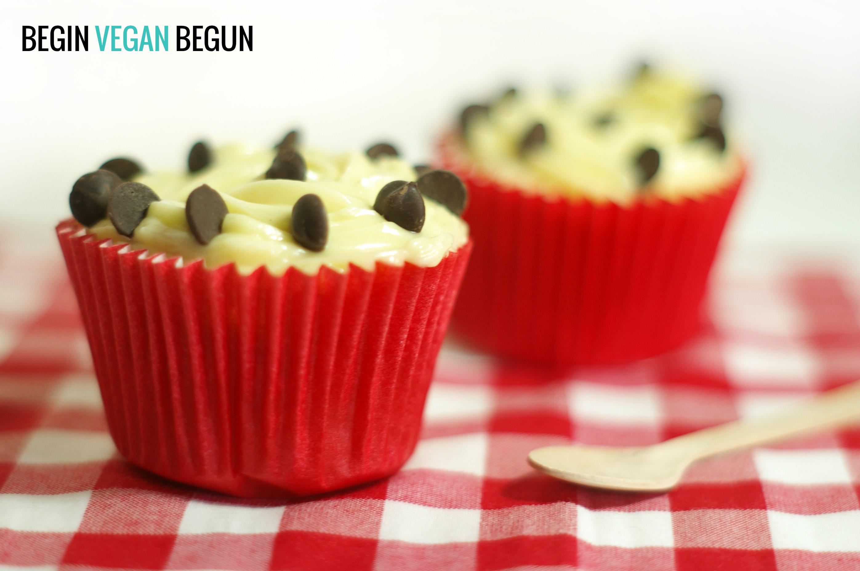 foto de cupcakes veganos