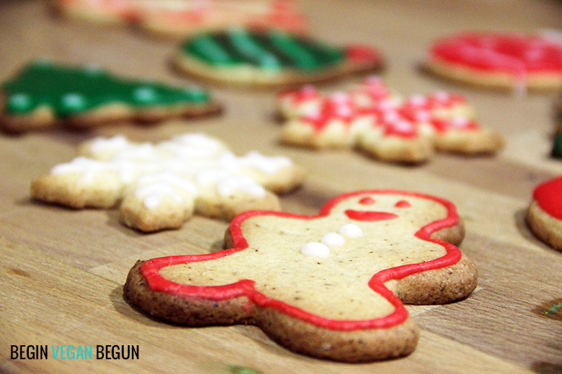 galletas de jengibre veganas