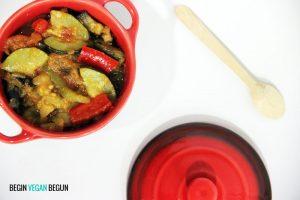 recetas veganas: ratatouille vegana