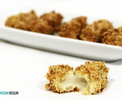fingers de queso veganos