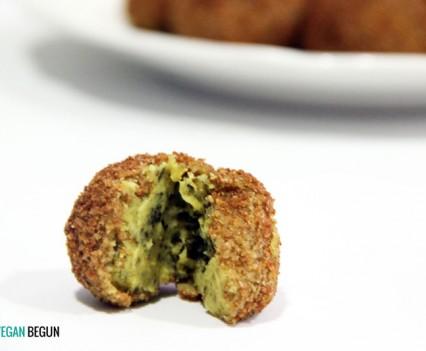 receta croquetas veganas de lentejas y algas