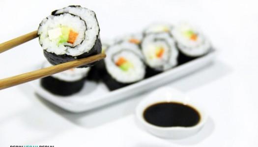 Sushi vegano, makis