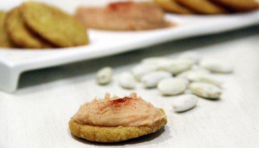 Paté de fabes y tortinos
