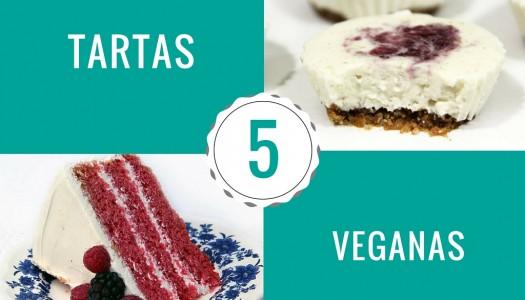5 tartas veganas que tienes que probar