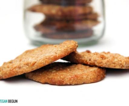 galletas veganas de avena y limón