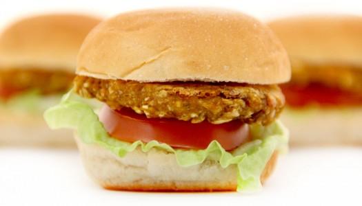 Mini hamburguesas de calabaza veganas