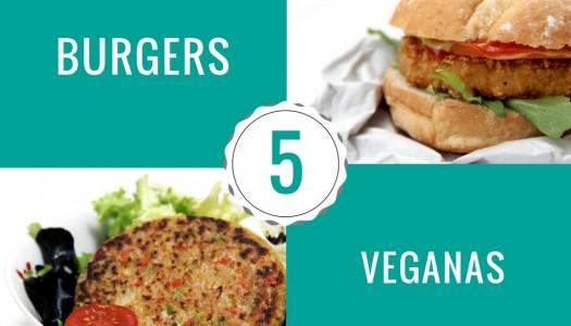 5 hamburguesas veganas