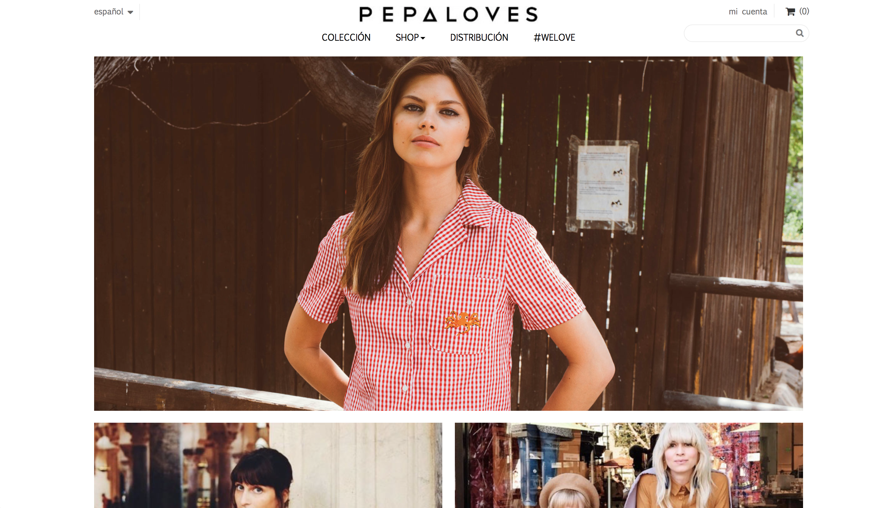 pepa loves ropa vegana