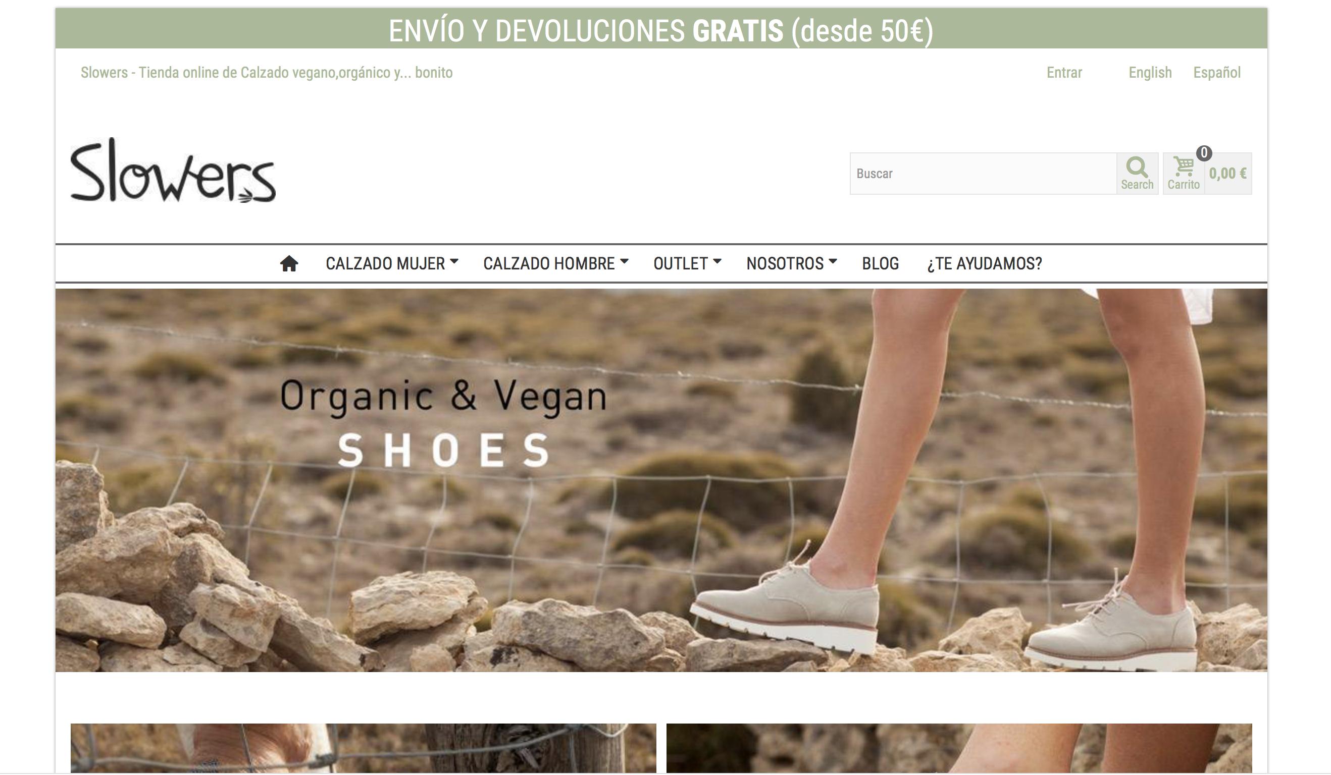 slowers calzado vegano