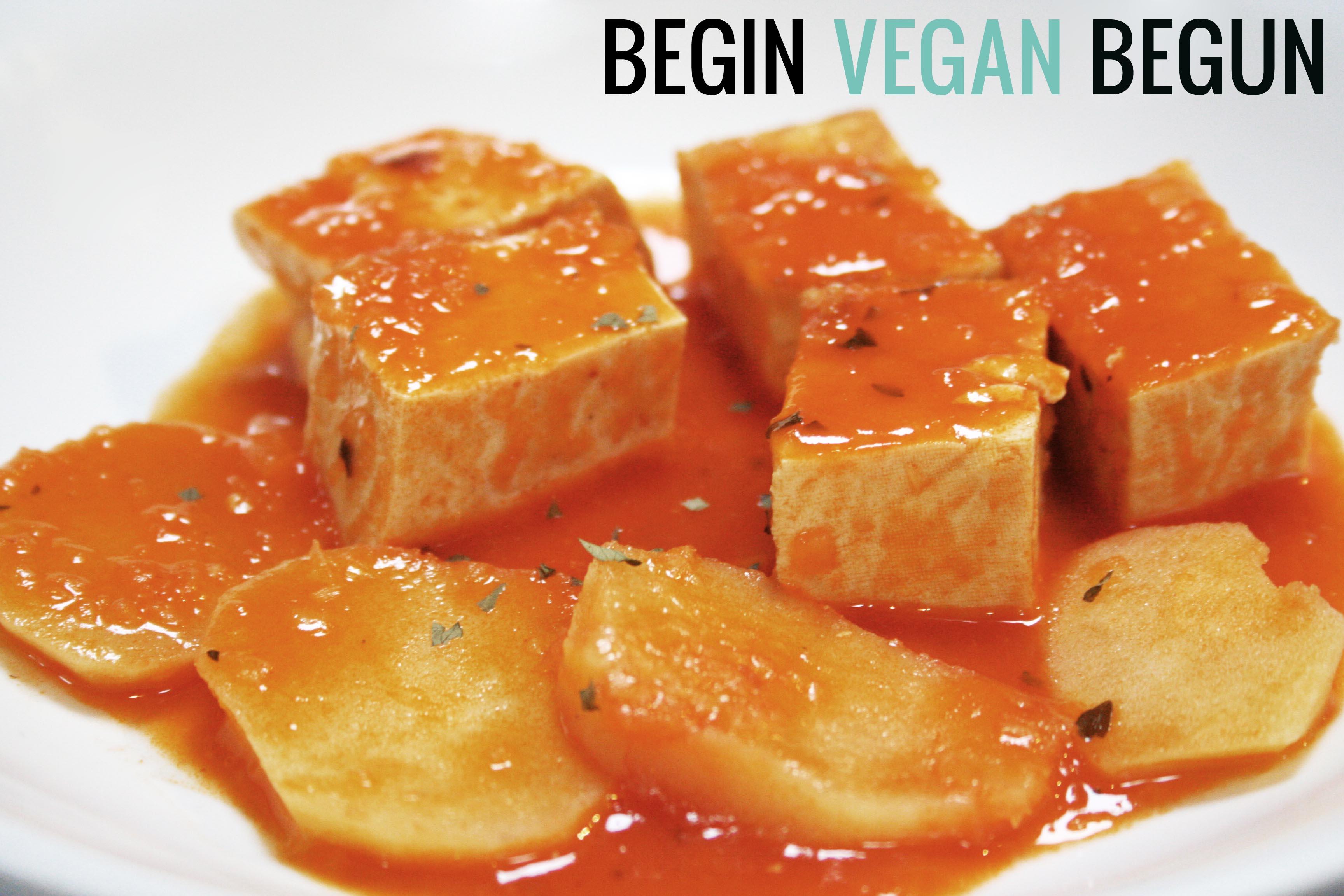 Tofu Guisado Recetas Veganas