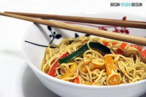 noodles veganos