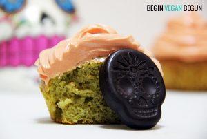 cupcakes halloween te matcha