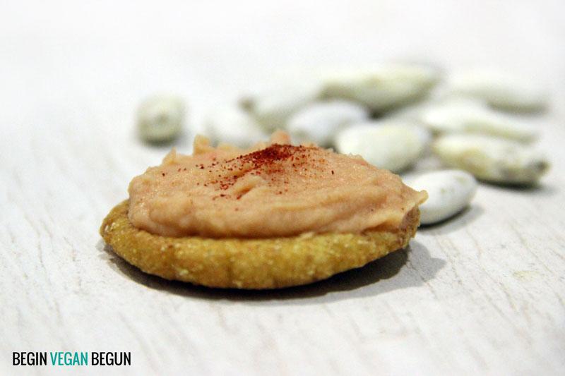 paté de fabes con tortinos