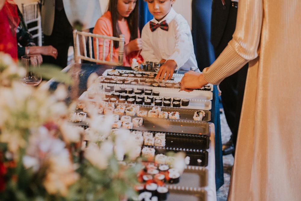 Menú boda veggie
