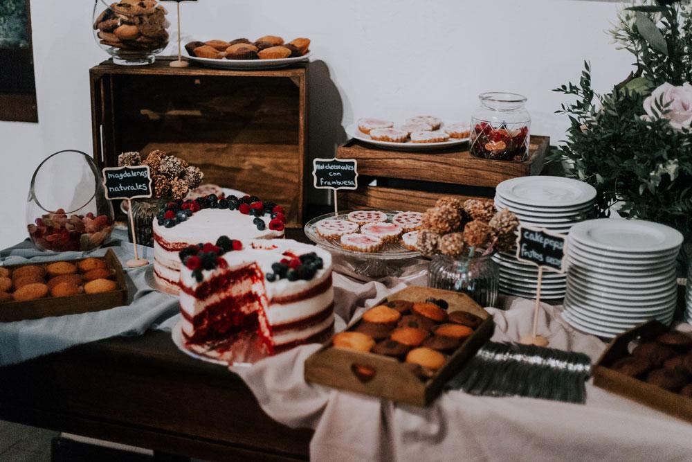 Mesa dulce vegana
