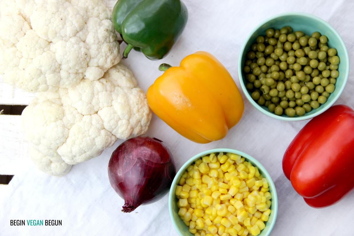 medallones de verduras veganos