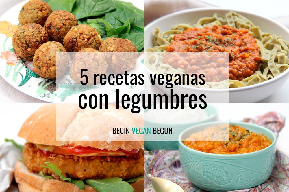 recetas veganas con legumbres