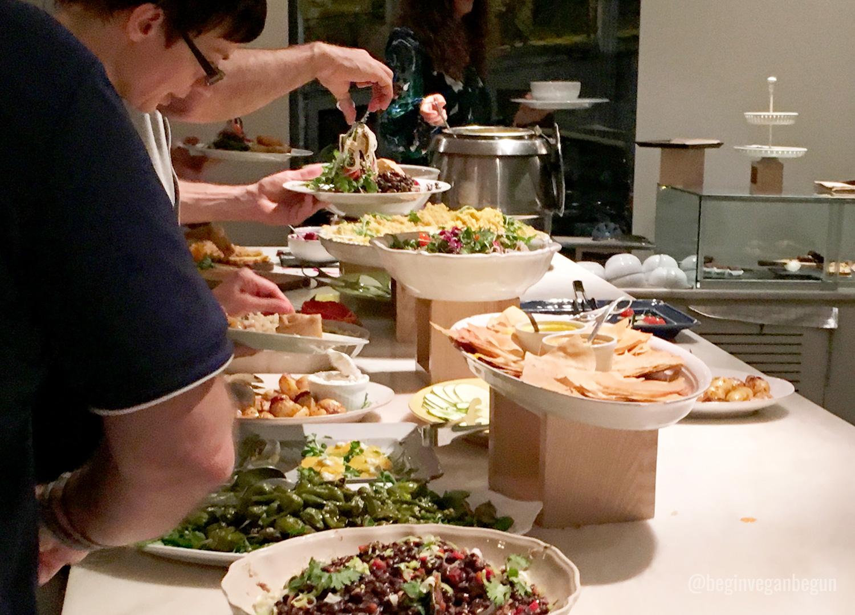 buffet vegano da terra