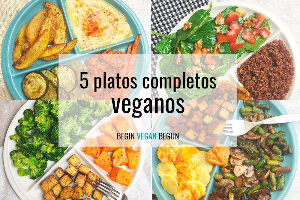 platos completos veganos