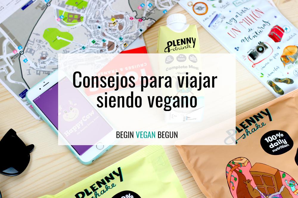 viajar vegano
