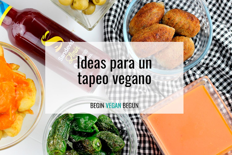 ideas para un tapeo vegano